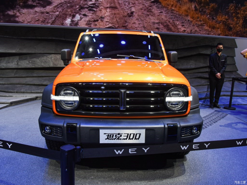 В Китае прошла презентация конкурента Ford Bronco от Great Wall